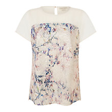 Buy Celuu Amelia Sequin Tunic, Ivory Online at johnlewis.com