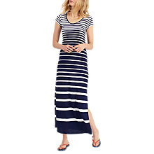 Buy Joules Sandrine Jersey Maxi Dress, French Navy Stripe Online at johnlewis.com