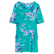 Buy Joules Kirsten Jersey Tunic Dress, Ocean Green Floral Online at johnlewis.com