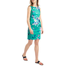 Buy Joules Laura Dress, Ocean Green Floral Online at johnlewis.com