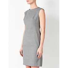 Buy John Lewis Bailey Melange Dress, Grey Online at johnlewis.com