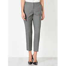 Buy John Lewis Bailey Melange Trousers, Grey Online at johnlewis.com