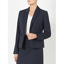 Buy John Lewis Esme Jacquard Jacket, Navy Online at johnlewis.com