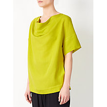 Buy Kin by John Lewis Laura Slater Limited Edition Cowl Neck Top, Ochre Online at johnlewis.com
