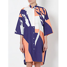 Buy Kin by John Lewis Laura Slater Limited Edition Poplin Shirt Dress, Multi Online at johnlewis.com