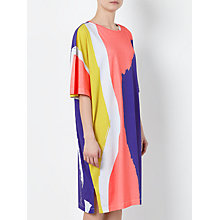 Buy Kin by John Lewis Laura Slater Limited Edition Painterly Print Jersey Dress, Multi Online at johnlewis.com