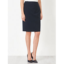 Buy John Lewis Esme Jacquard Skirt, Navy Online at johnlewis.com