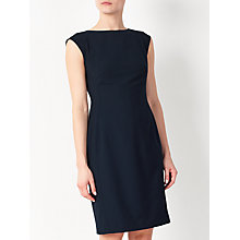 Buy John Lewis Esme Jacquard Dress, Navy Online at johnlewis.com