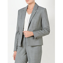 Buy John Lewis Bailey Melange Wool Jacket, Grey Online at johnlewis.com