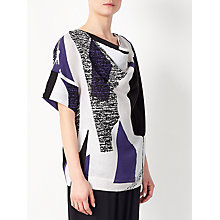 Buy Kin by John Lewis Laura Slater Limited Edition Collage Cowl Neck Top, Multi Online at johnlewis.com