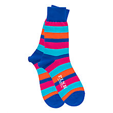 Buy Thomas Pink Rowland Stripe Socks Online at johnlewis.com