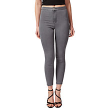 Buy Miss Selfridge Petite Steffi Skinny Jeans, Grey Online at johnlewis.com