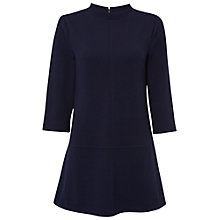 Buy White Stuff Picture Perfect Jersey Tunic Dress, Navy Online at johnlewis.com