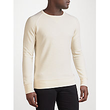 Buy Levi's Original Crew Neck Sweatshirt, Natural Greige Online at johnlewis.com