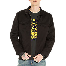 Buy Levi's Harrington Trucker Jacket, Black Online at johnlewis.com