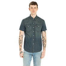 Buy Levi's Short Sleeve Classic Western Shirt Online at johnlewis.com
