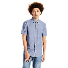 Buy Levi's Short Sleeve Sunset 1 Pocket Shirt, Chambray Wash Online at johnlewis.com
