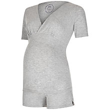 Buy Séraphine Patty Maternity Nursing Pyjama Set, Grey Online at johnlewis.com