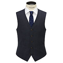 Buy Chester by Chester Barrie Pindot Wool Tailored Waistcoat, Airforce Online at johnlewis.com