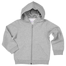 Buy Polarn O. Pyret Childrens' Hoodie, Grey Online at johnlewis.com