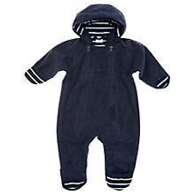 Buy Polarn O. Pyret Baby Fleece Pramsuit, Blue Online at johnlewis.com