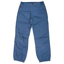 Buy Polarn O. Pyret Boys' Cargo Trousers, Blue Online at johnlewis.com