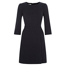 Buy Hobbs Melissa Dress, Navy/Ivory Online at johnlewis.com