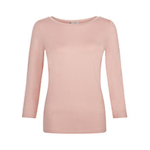Buy Hobbs Clara Top, Rose Pink Online at johnlewis.com