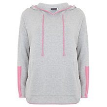 Buy Mint Velvet Tipped Sporty Knit, Grey Online at johnlewis.com