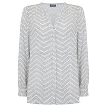Buy Mint Velvet Freja Print Blouse, Multi Online at johnlewis.com