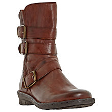 Buy Dune Rania Biker Calf Boots Online at johnlewis.com