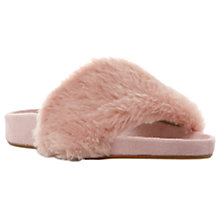 Buy Dune Lush Faux Fur Slider Sandals Online at johnlewis.com
