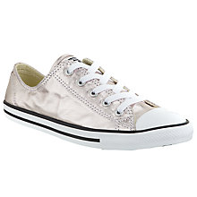 Buy Converse Chuck Taylor All Star Dainty Trainers, Rose Quartz Online at johnlewis.com