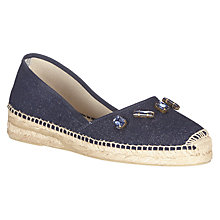 Buy AND/OR Luana Two Part Slip On Espadrilles Online at johnlewis.com