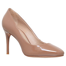 Buy Kurt Geiger Ellie Court Shoes, Nude Online at johnlewis.com