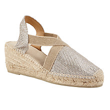 Buy John Lewis Ter Wedge Heeled Espadrilles Online at johnlewis.com