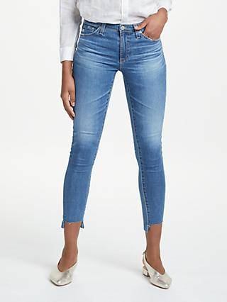 AG The Legging Ankle Mid Rise Jeans, 18 Years