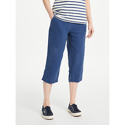 Seasalt Brawn Point Cropped Trousers, Night