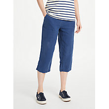 Buy Seasalt Brawn Point Cropped Trousers, Night Online at johnlewis.com