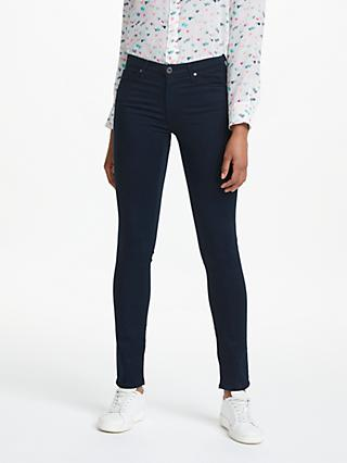 AG The Prima Mid Rise Skinny Jeans, Midnight Navy