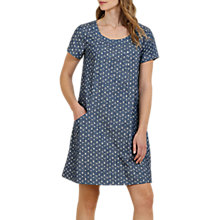 Buy Seasalt Green Globe Dress, Folk Stitch Indigo Online at johnlewis.com