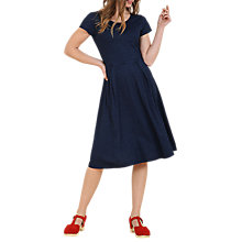 Buy Seasalt Golden Sands Dress, Indigo Dye Online at johnlewis.com