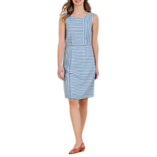 Buy Seasalt Peche Dress, Crevettes Cobalt Online at johnlewis.com