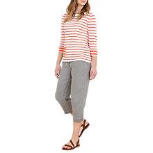 Buy Seasalt Radis Knitted Top, Dinghy Coral Online at johnlewis.com