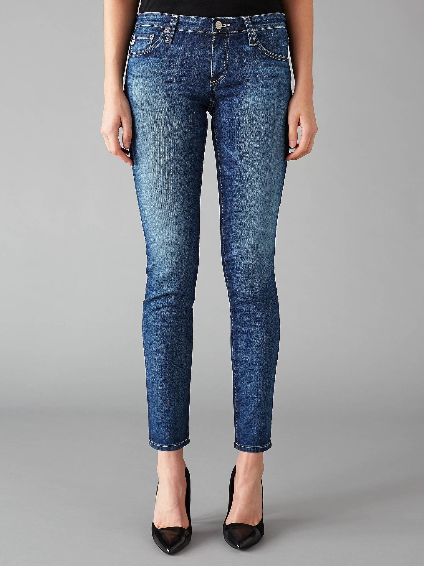 0d04c961981084 Buy AG The Stilt Mid Rise Skinny Jeans, 11 Years Journey, 24 Online at ...