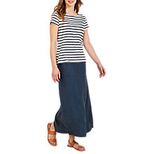 Buy Seasalt Belladonna Linen Skirt, Night Online at johnlewis.com