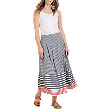 Buy Seasalt Concarneau Skirt, Race Day Fathom Online at johnlewis.com
