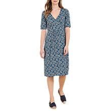 Buy Seasalt Kickwheel Dress, Agapanthus Marine Online at johnlewis.com