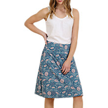 Buy Seasalt Portfolio Reversible A-Line Skirt, Summer Daisies Lugger Online at johnlewis.com