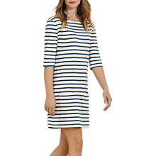 Buy Seasalt Sailor Tunic Dress, Breton Ecru Lugger Online at johnlewis.com